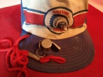My drum-major whistle and Rick's ball cap