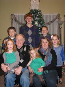 Uncle Danny & Aunt Bonnie with their grandchildren
