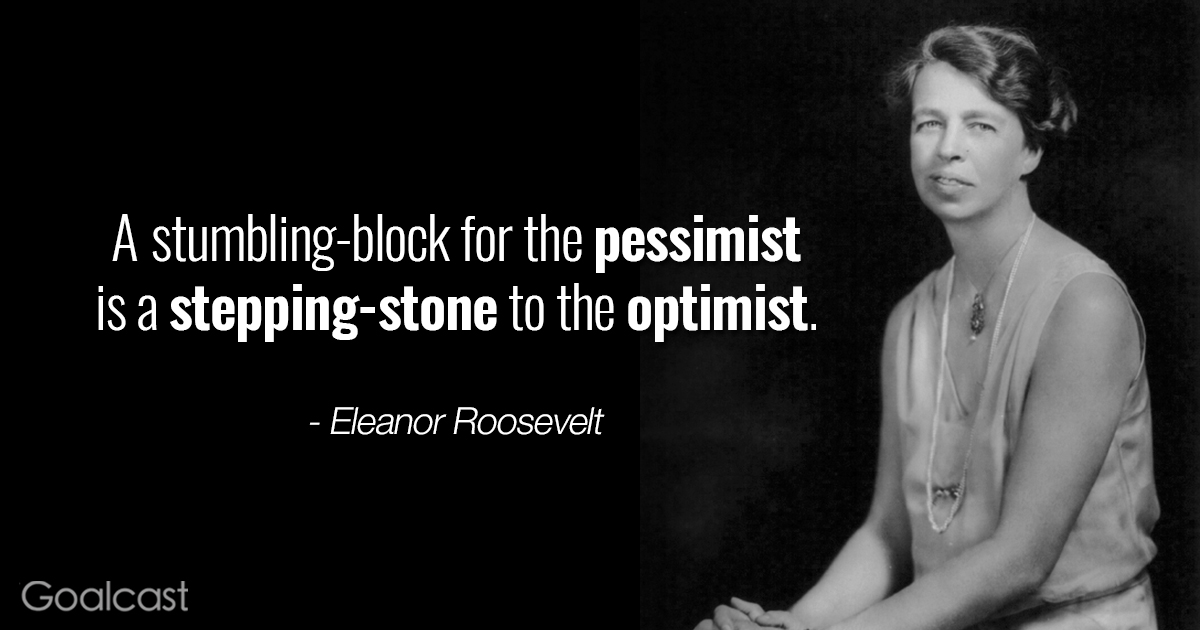 Famous Quotations By Eleanor: O, FOR HISTORY: Eleanor Roosevelt