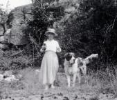 1920_Katharine_on_Lambert_Island